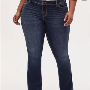 Torrid Luxe Slim Boot Jean